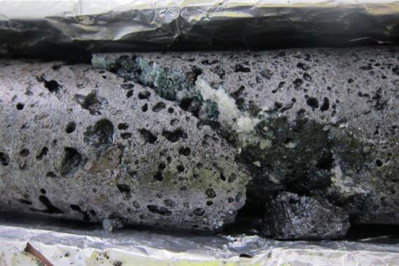 تبدیل گاز دی اکسید کربن به سنگ
